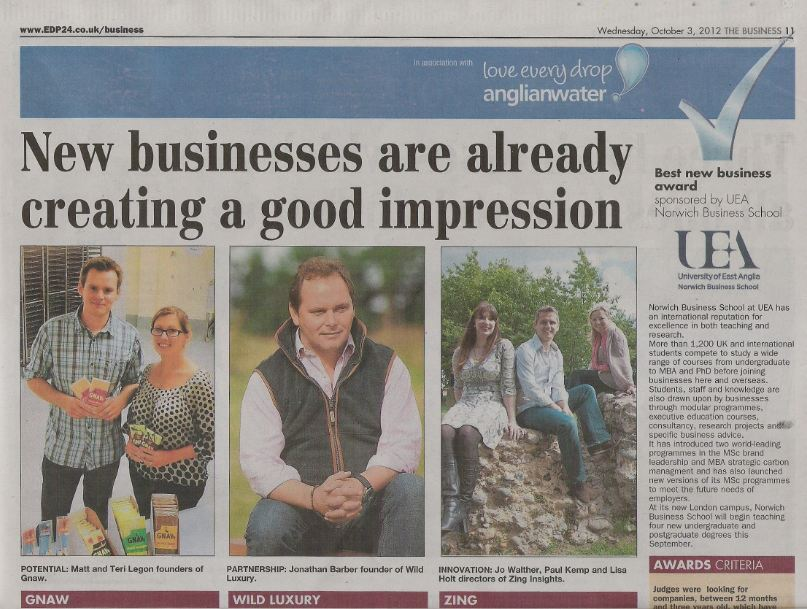 New businesses creating a good impression